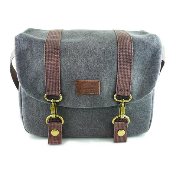 Roots Sac Collection Flannel Messenger Bag
