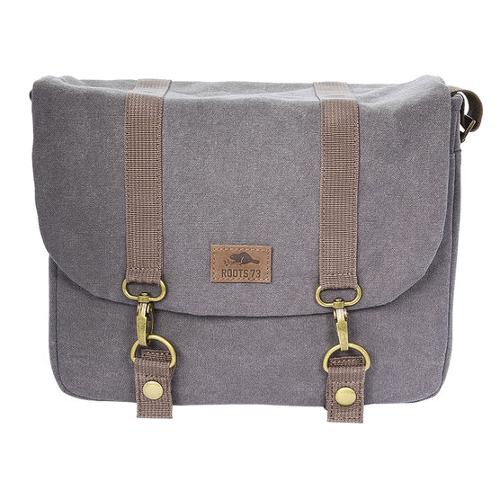 Roots Flannel Messenger Bag - Large