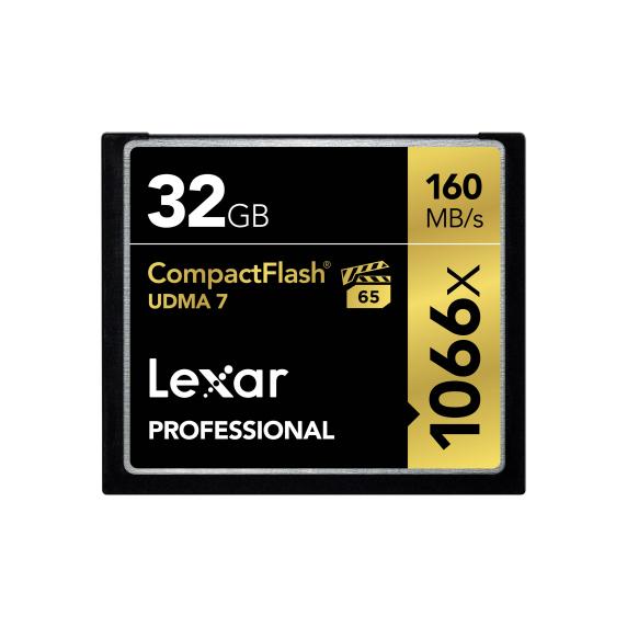 Lexar Compact Flash 32GB 1066X