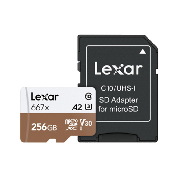 Lexar MicroSDXC 256GB Professional 667x