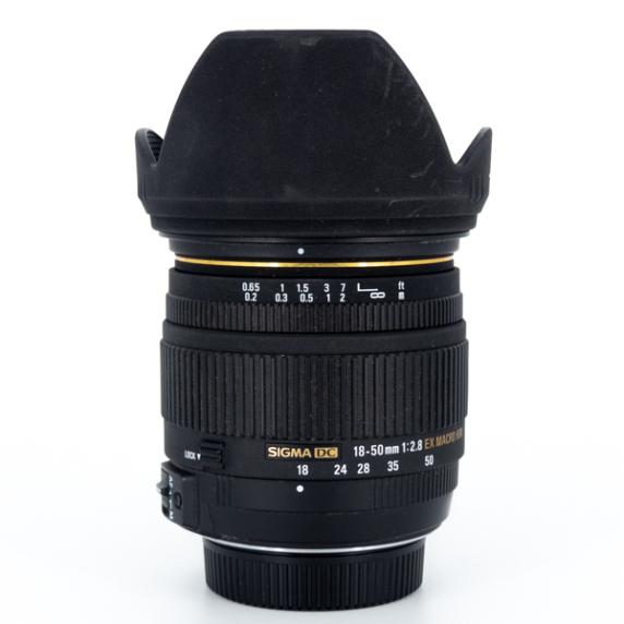 Sigma DC 18-50 F/2.8 EX MACRO (Monture Nikon) - Usagé
