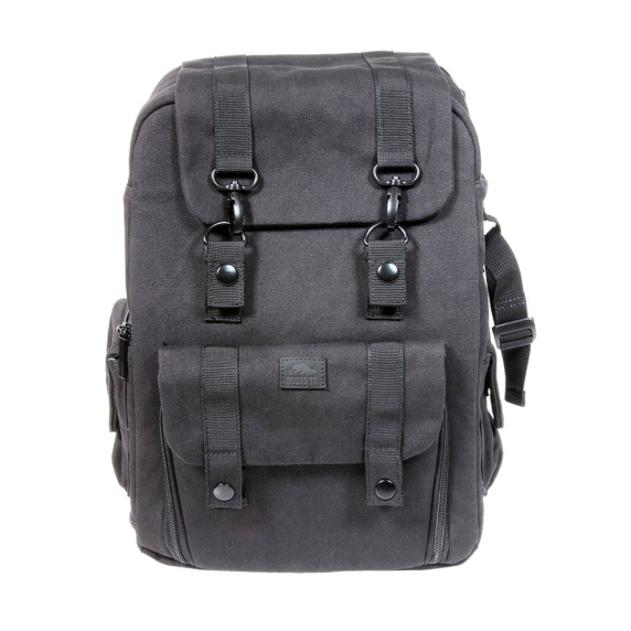 Roots Flannel Collection bag - Backpack (Black Edition)