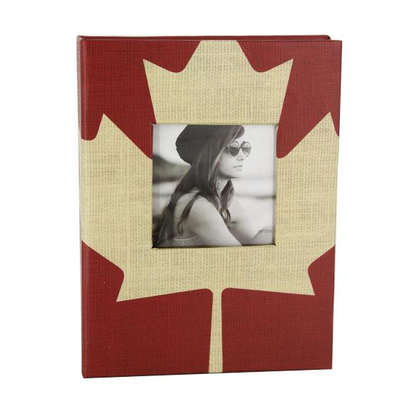 Pioneer Album/w  4x6 24ph. feuille d'érable rigide