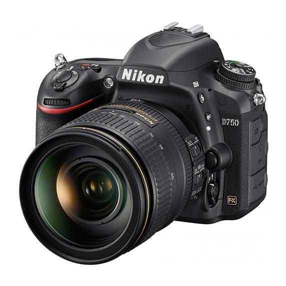 Nikon D750 avec 24-120mm VR