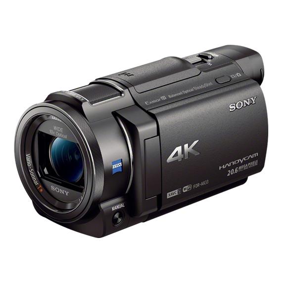 Sony Handycam FDR-AX33 - Camcorders | PixM