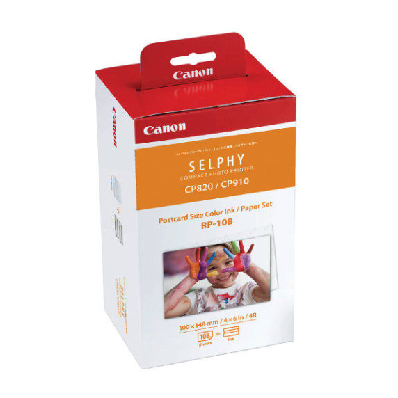 Canon Papier Thermal RP-108