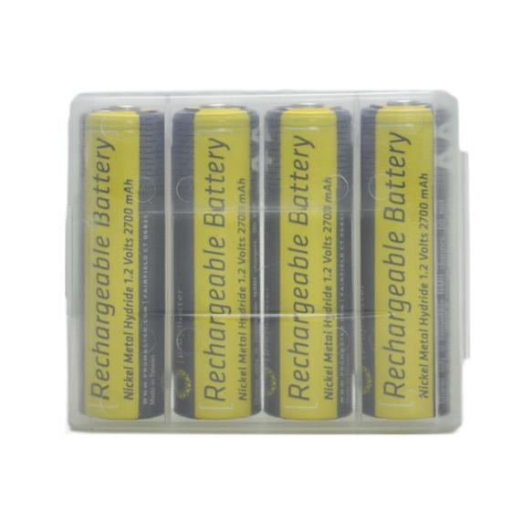 ProMaster Piles rechargeables AA NiMH - Ensemble de 4