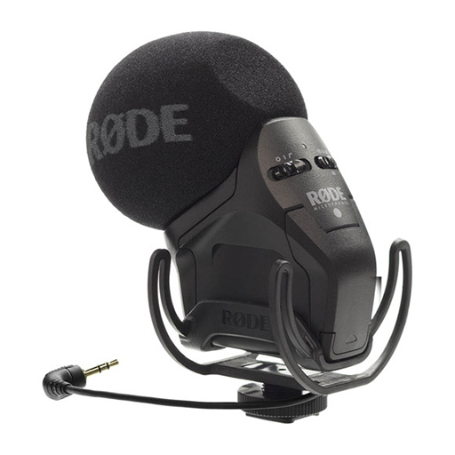 Rode Microphone Stereo VidéoMic Pro