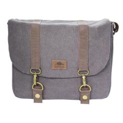 Flannel Messenger Bag - Large