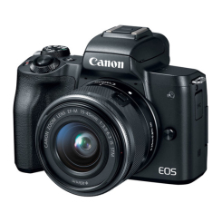 EOS M50 with 15-45 IS STM
