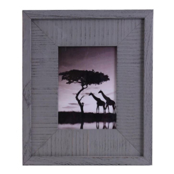 Frame 5x7 Grey Wood 3in