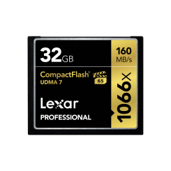 Compact Flash 32GB 1066X