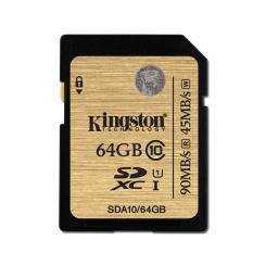 Gold SDXC 64GB (90R/45W)