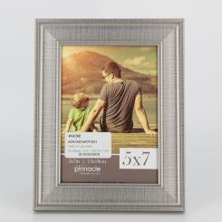 Cadre 5x7 gris métallique