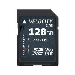 SDXC 128GB Velocity Cine
