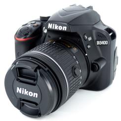 D3400 + AF-P 18-55mm VR - Usagé