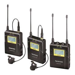 UHF Wireless Lavalier Dual Kit (2xTX9 + 1xRX9)