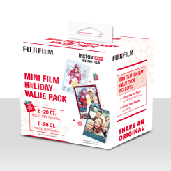 Instax Mini Film instantané Ensemble des Fêtes