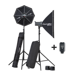 D-LITE RX 4/4 SOFTBOX TO GO Kit