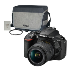 D5600 with AF-P 18-55mm VR + Accessories