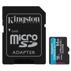 MicroSDXC 64GB Canvas Go! Plus