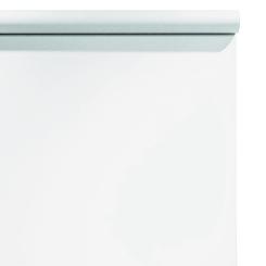 Fond papier 9x36 pieds Blanc Arctic