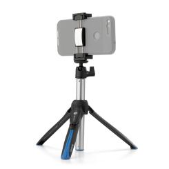 BK15 Mini Tripod & Selfie Stick w/Remote