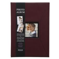 Album/w 4x6 240ph.  mémo rouge 3up
