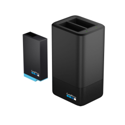 Double chargeur de batterie + batterie (HERO MAX)