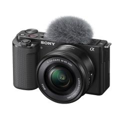 ZV-E10 with 16-50mm OSS (Black)