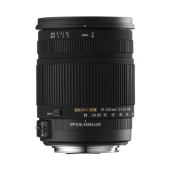 18-250mm F/3.5-6.3 DC OS HSM (Monture Canon)
