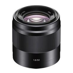 E 50mm f/1.8 (noir)