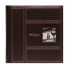 Album Classic Stitch 4x6 - 200 photos (brown)