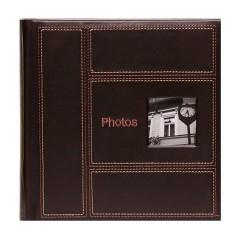 Album Classic Stitch 4x6 - 200 photos (Brun)