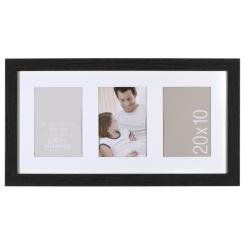 Cadre Gallery 10x17 (3-4x6) (noir)