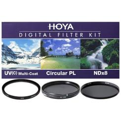 Ensemble Filtre Digital 58mm (3 filtres)