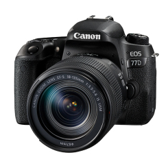 EOS 77D avec 18-135mm IS USM