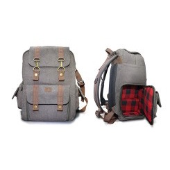 Sac Collection Flannel Backpack