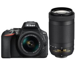 D5600 avec AF-P 18-55mm VR + AF-P 70-300mm