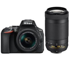 D5600 with AF-P 18-55mm VR + AF-P 70-300mm VR