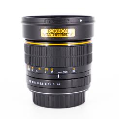 85 mm f1.4 Monture Canon - Usagé