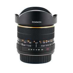 8mm f/3.5 Fisheye (Monture Canon)