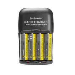 Ensemble XtraPower Chargeur & Batterie AA Préchargé