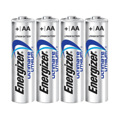 Ultimate Lithium AA Battery (Pack of 4)