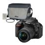 Nikon D5600 avec AF-P 18-55mm VR + Accessoires