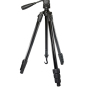 Optex Black 4 Sections Video Tripod - TP160