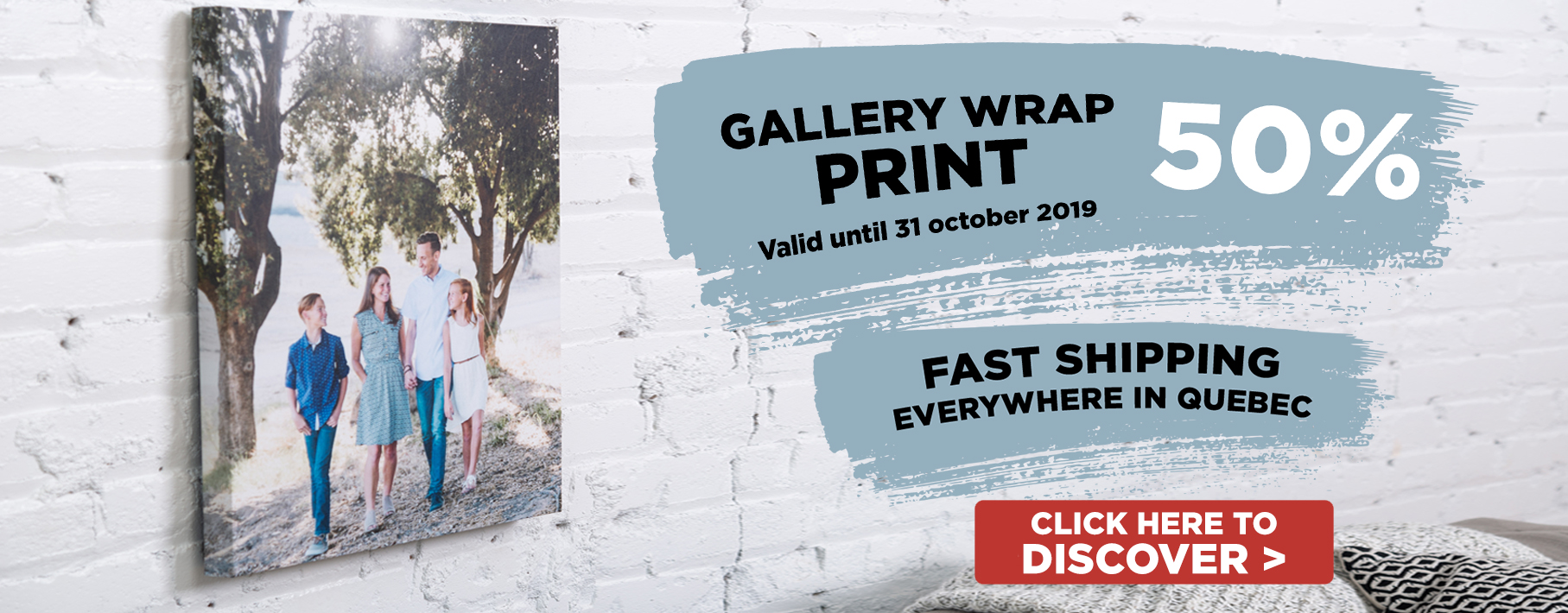 50% off galery Wrap