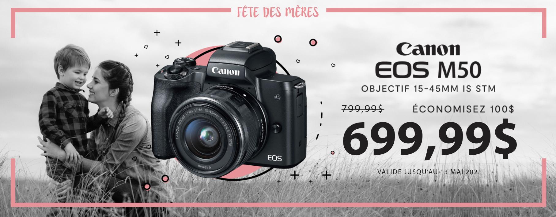 Fête des mères - Canon M50